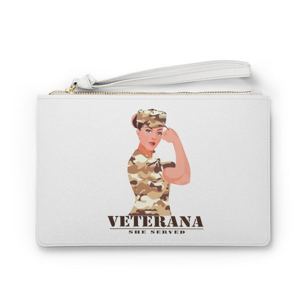Veterana Clutch Bag