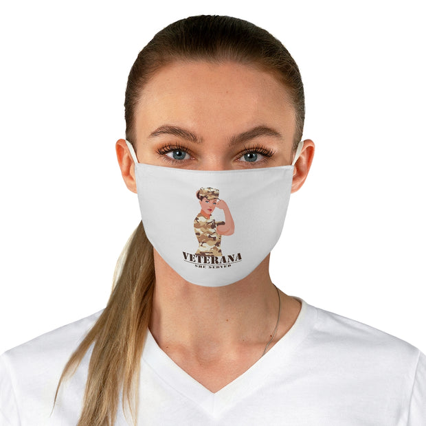 Veterana Fabric Face Mask