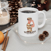 Veterana 11oz White Mug