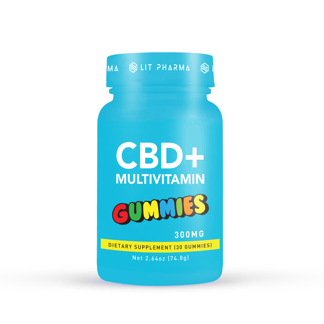 CBD Multivitamin Gummies - Lit Pharma