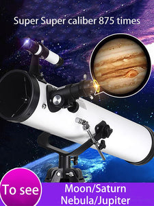 Professional Zoom Astronomical Telescope Outdoor HD Night Vision Refractive Deep Space Moon Watching High Definition Monocular