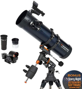 2019 NEW AstroMaster130EQ Reflector Astronomical Telescope Professional High-Power High-Definition