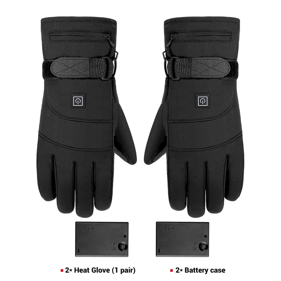 thin heated gloves