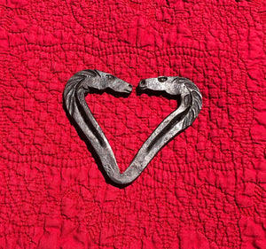 Horse Head Heart Forged