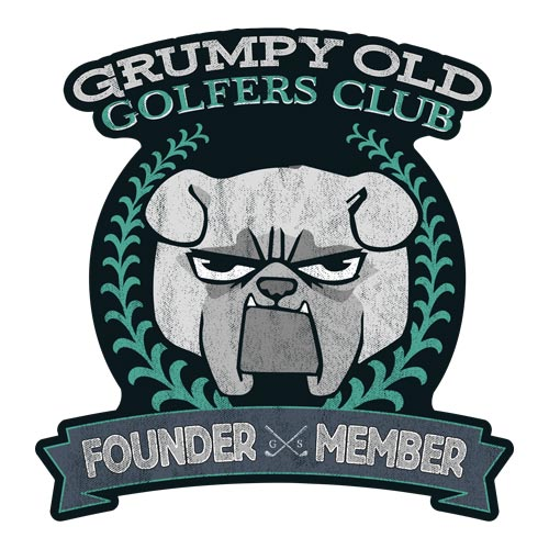 Grumpy Golfer Stickers