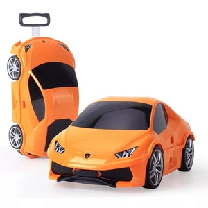 Kids Suitcase Car