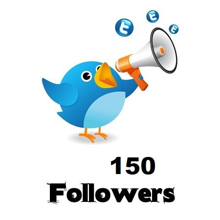 150 Twitter Followers