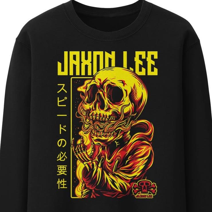 Jaxon Lee Soul on Fire Crew Sweat Jumper