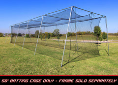 Cimarron 50x12x10  #24 Twisted Poly Batting Cage Net