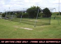 Cimarron 70x12x12  #36 Twisted Poly Batting Cage Net