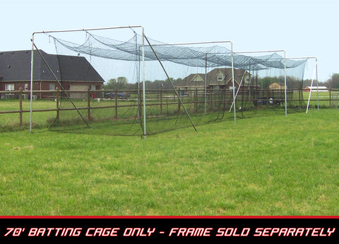 Cimarron 70x12x12  #42 Twisted Poly Batting Cage Net