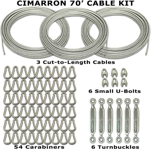 Cimarron 70' Cable Kit