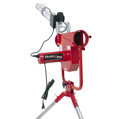Heater Pro Real Curveball Machine With Auto Ballfeeder