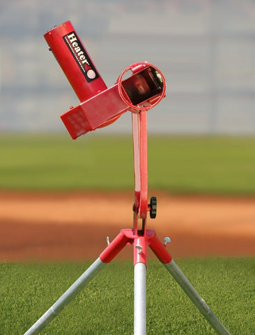 Heater Pro Real Curveball Machine