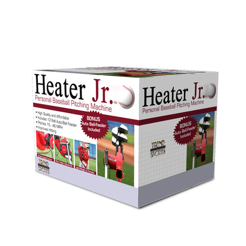 Heater Jr. Real Baseball Machine