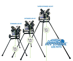 "Junior Hack Attack Baseball Extended Legs, 46"", Set of 3"