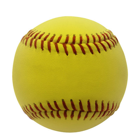 Softball 12″ Leather Yellow with Kevlar® Seams
