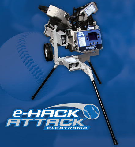 NEW! Elite eHack Attack Baseball Pitching Machine COMING SOON!!! 3 to 4 weeks