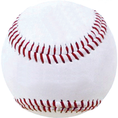 White Leather Practice Ball with Kevlar® Seams