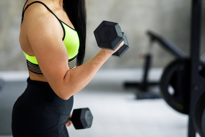 Increase Mobility and Decrease Flabby Arms with Weightlifting