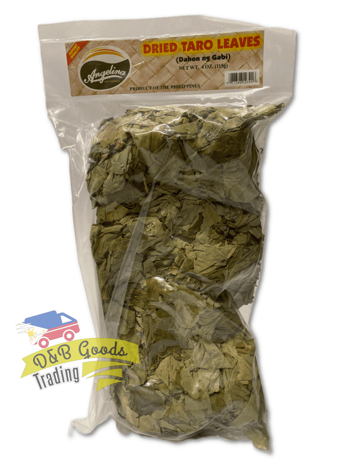 Angelina Dry Goods Angelina Dried Taro Leaves