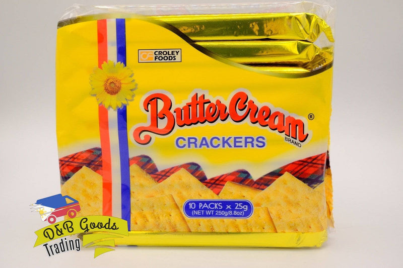 Crowley Foods Crackers Butter Cream Original