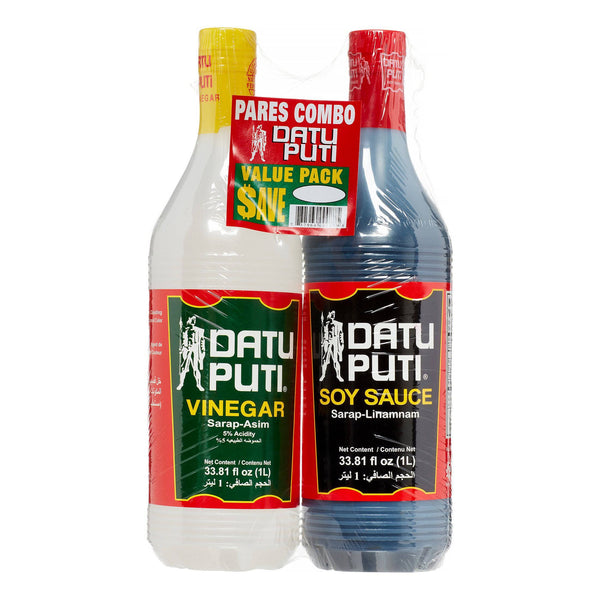 Datu Puti Condiments Datu Puti Value Pack Soy Sauce and Vinegar