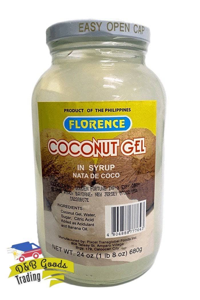 Florence Bottled Goods Florence Coconut Gel White (L)