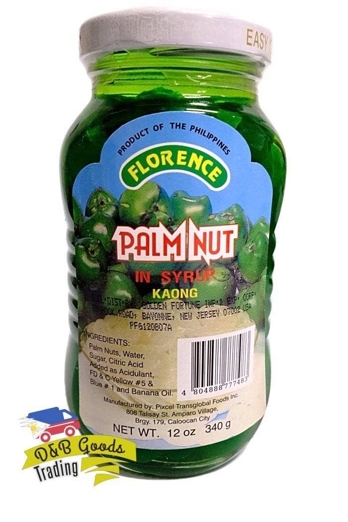 Florence Bottled Goods Florence Palm Fruit Green (S)