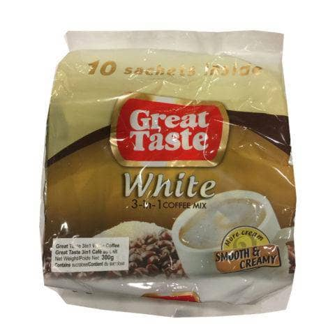Great Taste Drinks Great Taste White Coffee Creamy