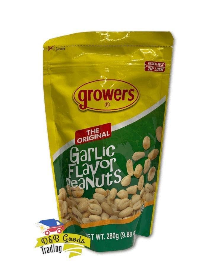 Growers Nuts Growers Garlic Peanuts (L)