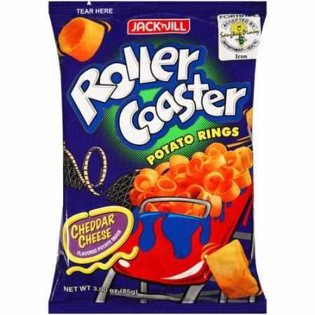 Jack & Jill Chips Roller Coaster Potato Rings