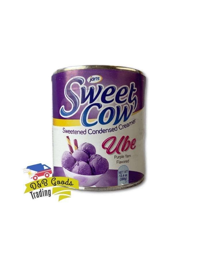 Jans Canned Goods Jans Sweet Cow Sweet Condensed Creamer - Ube Flavor