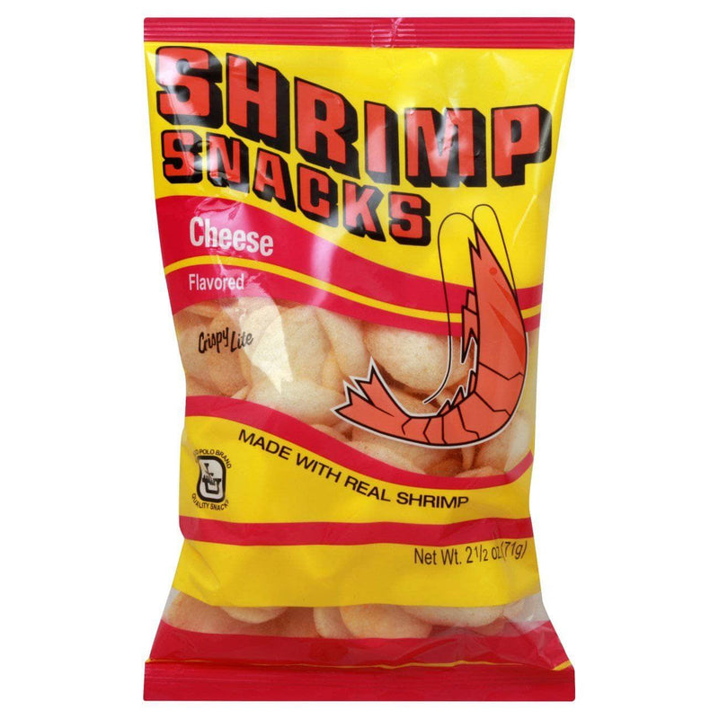 Marco Polo Chips Marco Polo Shrimp Snacks - Cheese