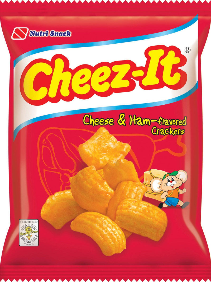 Nutrisnack Chips Nutri Cheez-It Ham & Cheese (L)