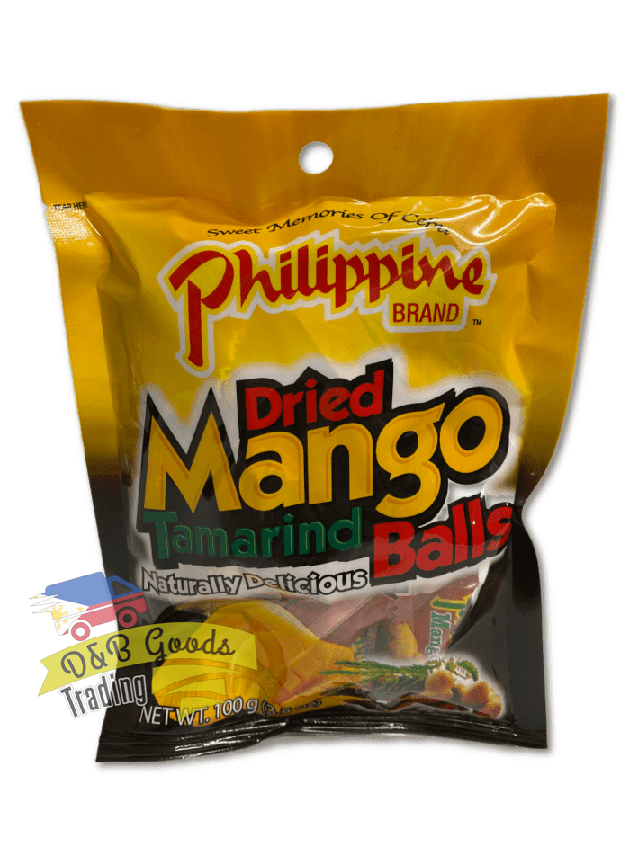 Philippine Brand Candy Phil Dried Mango Tamarind