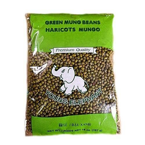 Young Elephant Dry Goods Young Elephant Brand Green Mung Beans