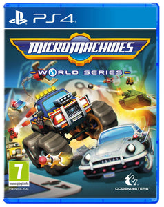 Jogo PS4 - Micro Machines World Series (USADO)