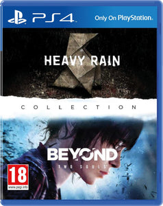 Jogo PS4 - The Heavy Rain & Beyond Two Souls Collection