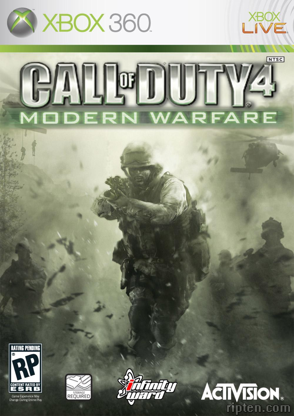 Xbox 360 - Call Of Duty 4: Modern Warfare (USADO)