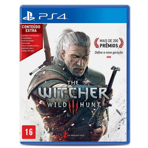 PS4 - The Witcher 3: Wild Hunt (USADO)