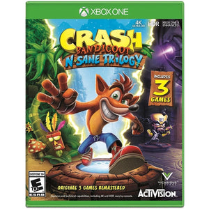 Jogo Xbox One - Crash Bandicoot N. Sane Trilogy