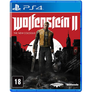 PS4 - Wolfenstein II: The New Colossus (USADO)