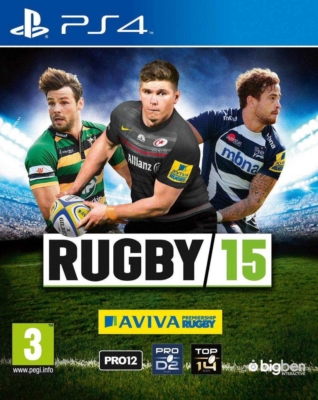 PS4 - Rugby 15 (USADO)