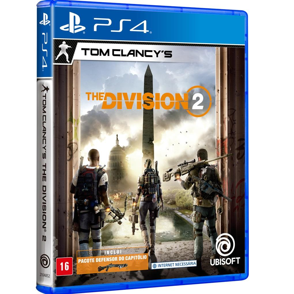 Jogo PS4 - Tom Clancy's: The Division 2