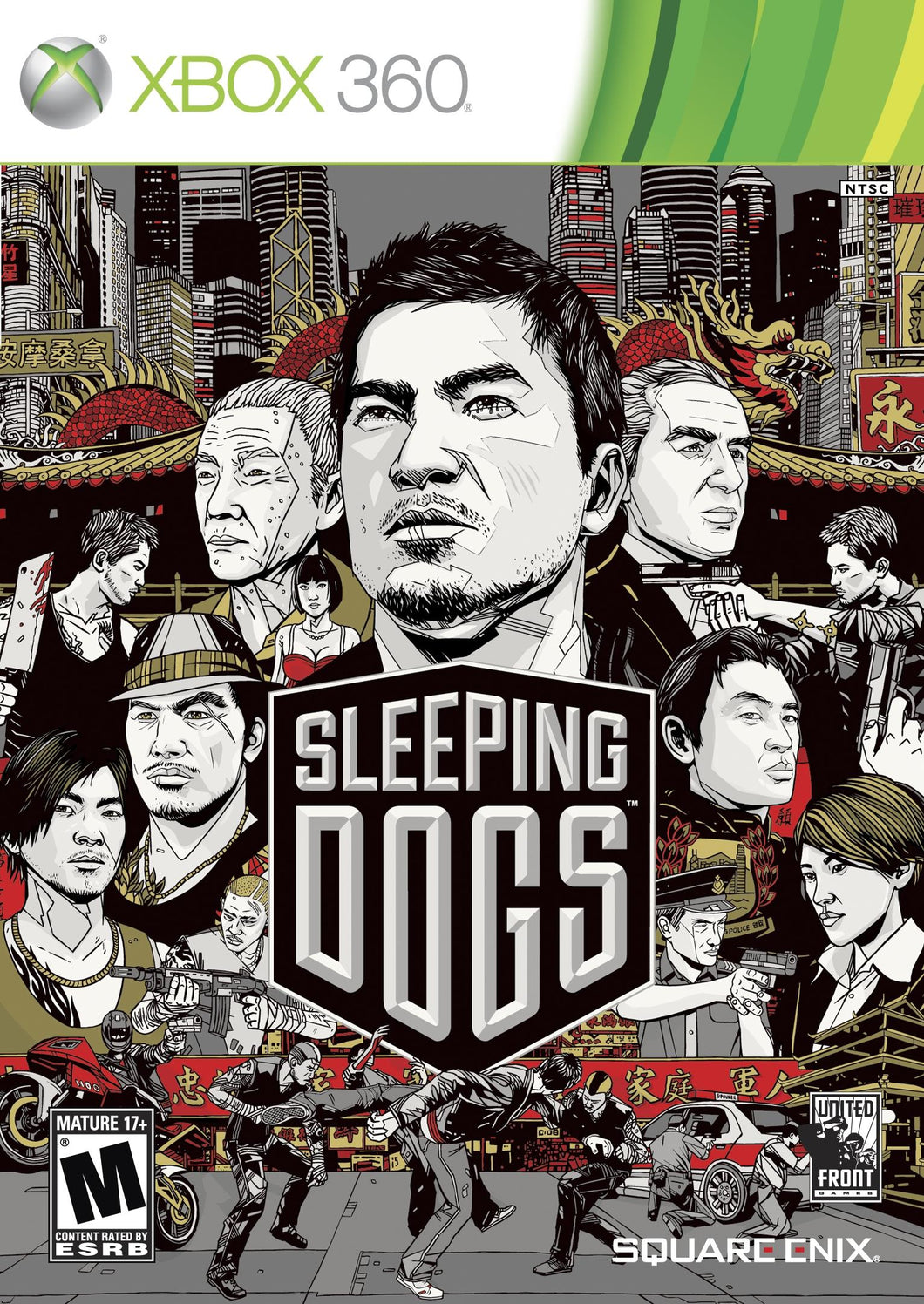Xbox 360 - Sleeping Dogs (USADO)