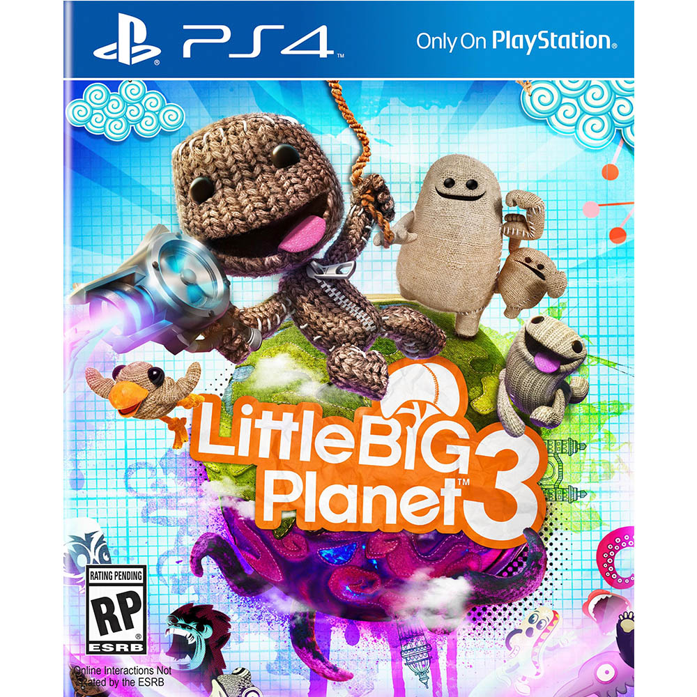 PS4 - Little Big Planet 3 (USADO)