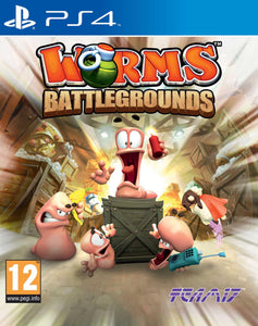 Jogo PS4 - Worms Battlegrounds