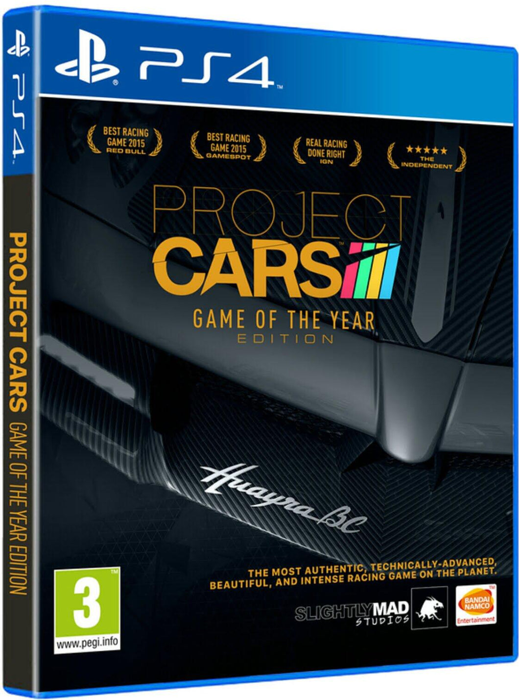 Jogo PS4 - Project Cars Complete Edition