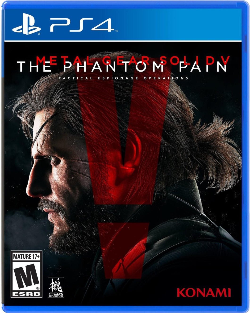 PS4 - Metal Gear Solid V The Phantom Pain (USADO)